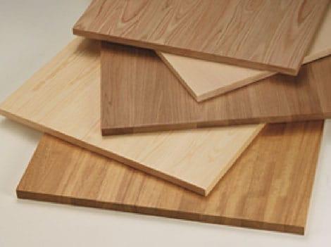 Solid edge glued panels applications