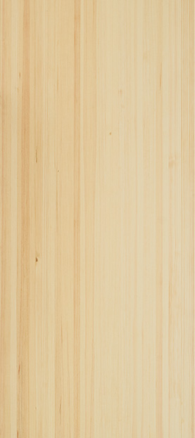 Quarter sawn scots pine species