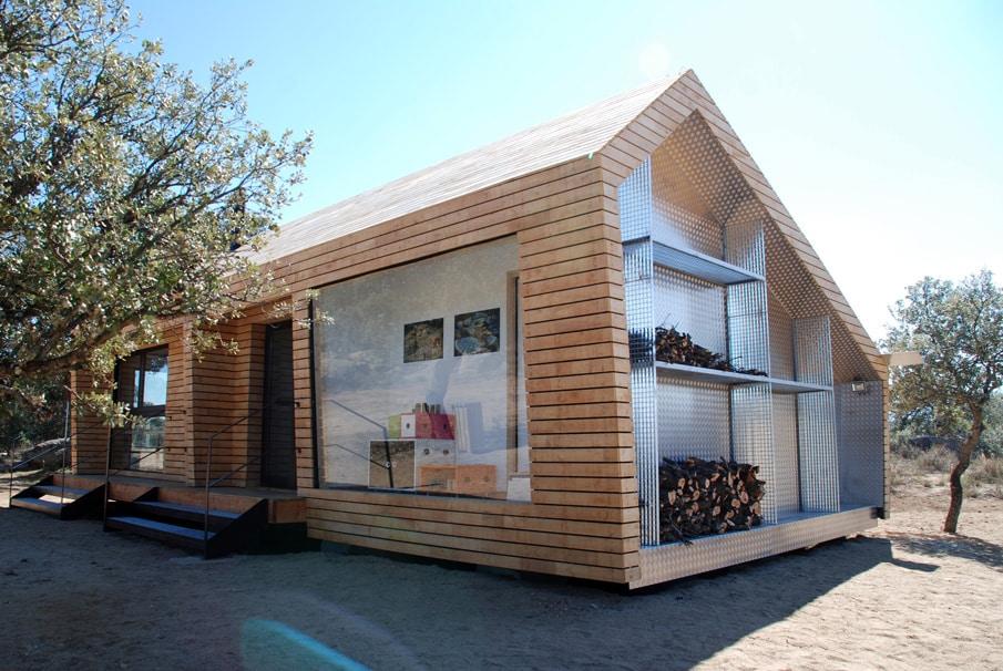 Centro de recepción de visitantes del museo de las piedras de Ibarrola