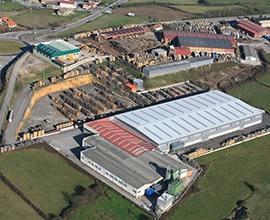 2005Ampliación instalaciones con una nueva nave de 7.500 m2